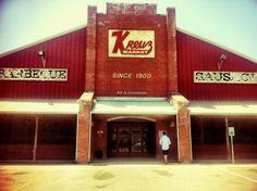 Lockhart, Texas = BBQ Mecca