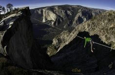 The urge to head to the land of nod can happen at any time – but adrenaline junkie Brian Mosbaugh would have been looking at a 600m (2,000ft) drop if he had slipped.
