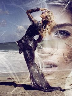 Lily Donaldson by Alexi Lubomirski