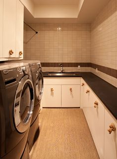 Nice large laundry room - would also be a great place to wrap presents