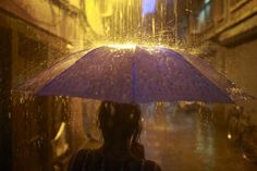 In the rain is the life-giving power #