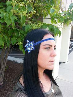 Dallas Cowboys Headband by DaBands on Etsy, $8.00