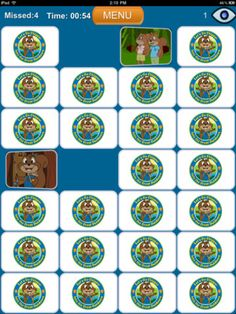 Chipper Matching Game- Memory Pairs for Kids!  You can upload your own photos to play a customized memory game!!  Great for students that benefit from real photos!  Can use for any speech & language target concept!