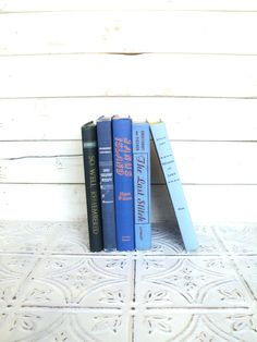 Blue Books Ombre Instant Library Collection by sorrythankyou79,