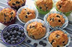 Eddie's Blueberry Yogurt Muffins