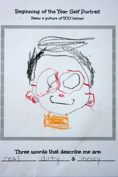 Why self-portraits are important for assessing preschoolers.