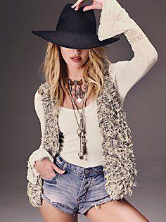Fur Away Vest