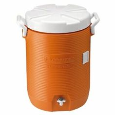 Rubbermaid Orange Insulated 5 gal Beverage Container