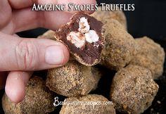 Amazing S'mores Truffles