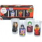 Adam West era Batman shot glasses!