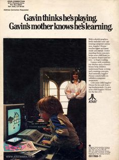 Gavin Thinks He's Playing. Gavin's Mother Knows He's Learning.