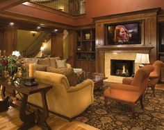 Television Fireplace Enclosure Design, Pictures, Remodel, Decor and Ideas - page 3