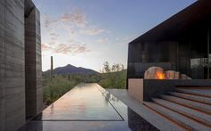 Desert Courtyard House in Scottsdale, Arizona by Wendell Burnette Architects