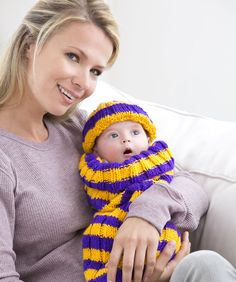 It's never too early to start the newest fan in your family cheering for your team! This cuddly cocoon will let the world know who you're rooting for.