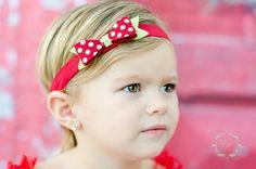 Holly Jolly Felt Christmas Bow Headband by extrafrostingplease, $8.00