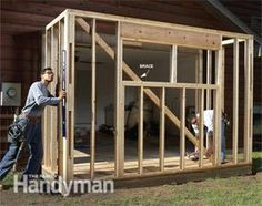 Get more Garage Storage or Shop Space with a Bump-out Addition. See the DIY plans and step-by-step instructions at FamilyHandyman.com