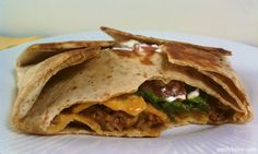 Taco Wrap Deluxe 7 Weight Watchers Points+