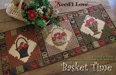 Basket Time Runner Kit & Pattern