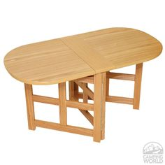 Folding Coffee Table - Oak - Four Corners 69087 - Tables - Camping World
