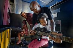 Mobile Music Lessons offered for free for low income kids in a former 26 foot used U-Haul Sacramento neighborhood.