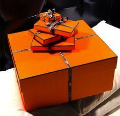 Anything in an orange box!!