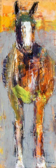 hors paint, donkey, horse paintings