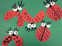 The Very Grouchy Ladybug collage