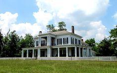 Cedar Grove Plantation Home at Faunsdale, AL (1858) | Rural Southwest Alabama