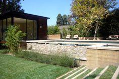 another semi inground pool