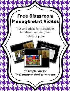 Classroom Freebies Too: Free classroom management videos: get ideas for the new school year!