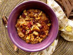 {Slow Cooker} Overnight Cinnamon Apple Oatmeal