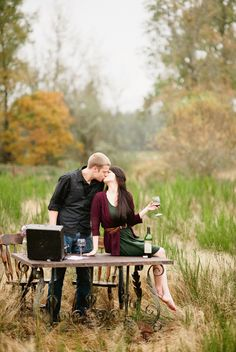 stylized engagements that are so romantic captured by Van Wyhe Photography http://bit.ly/P5sPJG