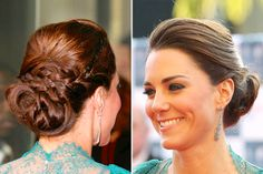 the perfect go-to up-do  for special events