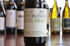 The Reverse Wine Snob: Ridge Lytton Estate Petite Sirah 2011 - A Sure Thing. Saturday Splurge!  http://www.reversewinesnob.com/2014/07/ridge-lytton-estate-petite-sirah.html #wine #winelover