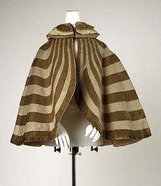 Cape, 1895-1905, French. Wool & silk. Designed by Gustave  Beer.