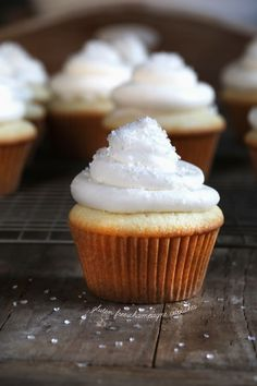 Gluten Free Champagne Cake or Cupcakes. ☀CQ #glutenfree
