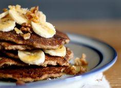 Gluten & Dairy Free Banana Bread Pancakes