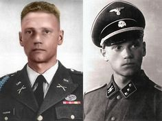 Lauri Allan Törni aka Larry Thorne was a Finnish soldier who fought under 3 flags:Finnish, Nazi Germany,US.Thorne fought against the USSR both as a Finnish soldier and Waffen SS.The Russians put a price on his head during the Finno-USSR war because of his battle feats.Postwar,Thorne entered the US illegally but in 1954 was inducted into the US Army and was among the first to join the Special Forces.Thorne was killed in Vietnam in 1965.He is buried at Arlington Ntl Cemetery.