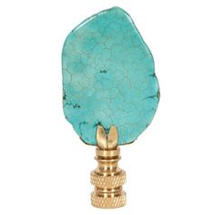 Turquoise Lamp Finial