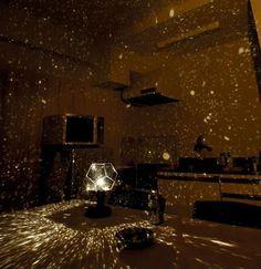 Star wars room??  Star Master projection