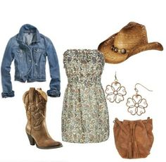"Nothing says ""I'm a girl from Idaho"" like this outfit. ;) but it's cute :)"