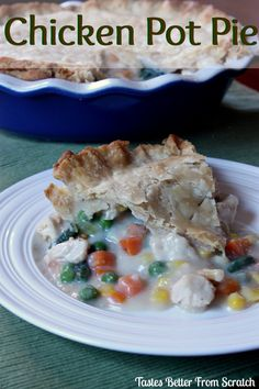 Favorite Chicken Pot Pie on MyRecipeMagic.com