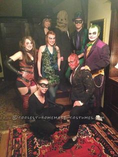 The Best Batman Villains Group Costume You Will Ever See… Coolest Halloween Costume Contest