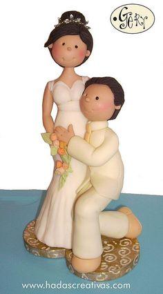 Love this bride & groom