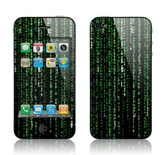 Matrix Skin on iPhone 4..Nice!