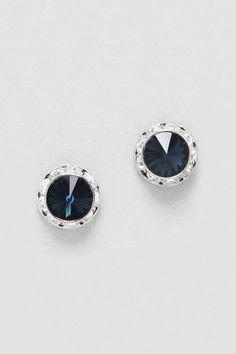 Sapphire Crystal studs