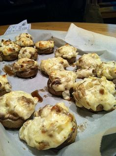 Low carb: Sausage and cheese stuffed mushrooms. REALLY. #keto #diet #lowcarbs #lchf #recipes