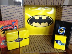 Batman birthday care package
