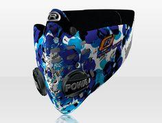 Respro® Skins™ pollution mask - PETAL Blue #matchyourstyle