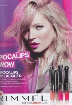 KATE MOSS FOR  RIMMEL LONDON'S SPRING/SUMMER 2013 CAMPAIGN PHOTOGRAPHED BY MERT ALAS AND MARCUS PIGGOTT
